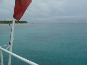 ...and watched bantayan get smaller...