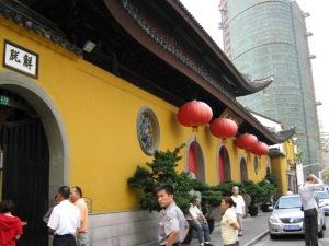 Shanghai Jade Buddha Temple entrance