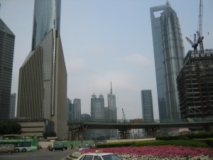 shanghai financial center to the right :)