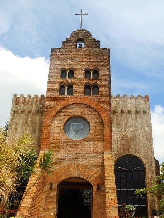 Caleruega Chapel facade