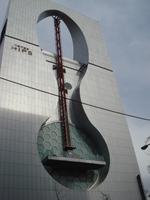The sexiest building I've ever seen, aptly named 'Namba Hips'