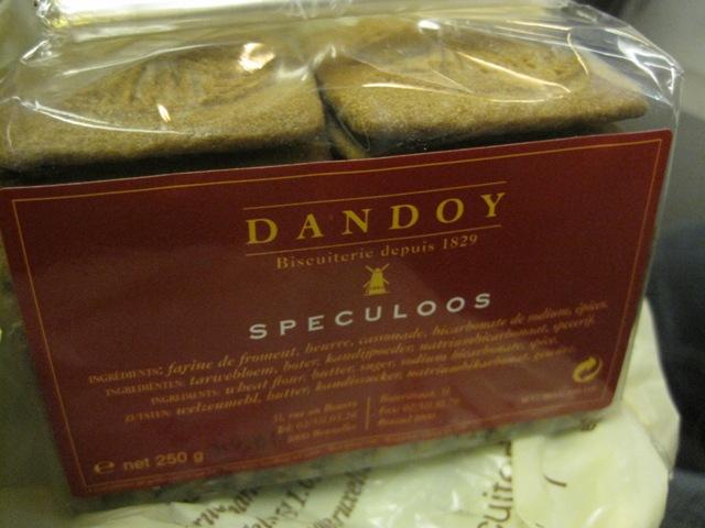 Dandoy's Speculoos cookies