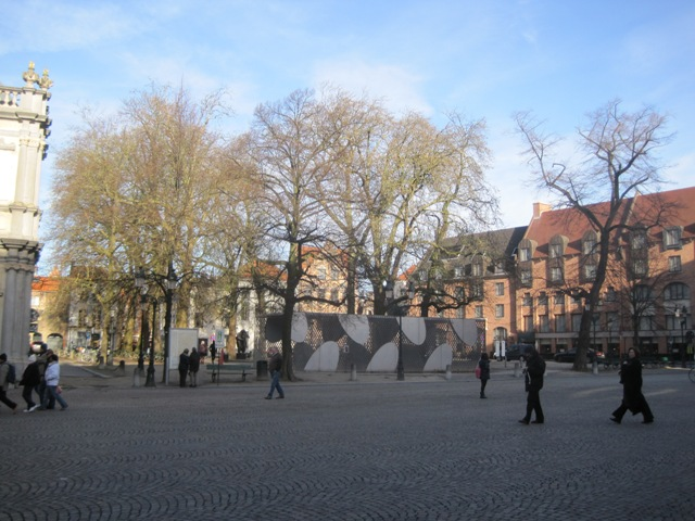 The site of The Missing Cathedral, Sint-Donaaskerk