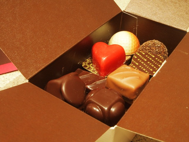 Wittamer's royal chocolates