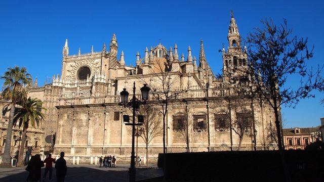 Real Alcazar's majestic facade