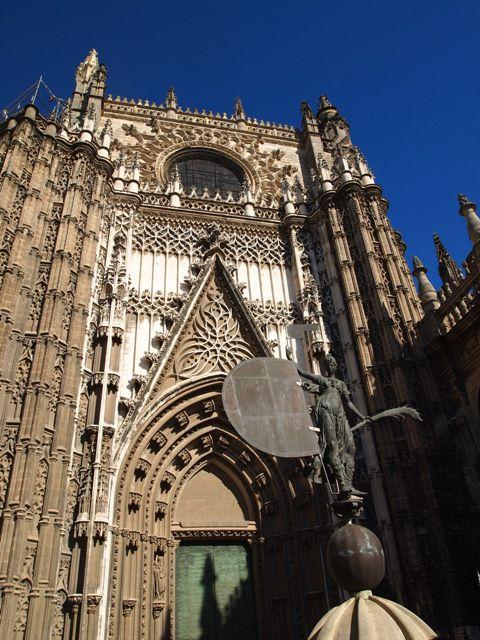 Seville Cathedral main entrance
