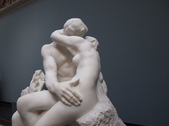 The Kiss, by Rodin