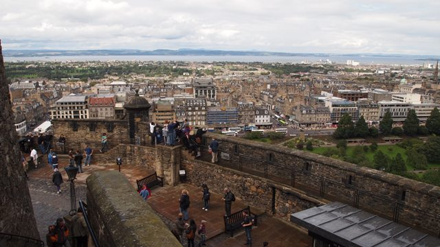 Edinburgh Castle's grounds
