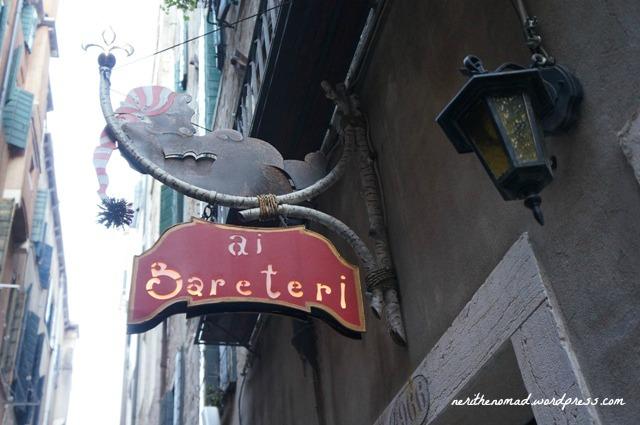 Where we stayed: the Locanda ai Bareteri