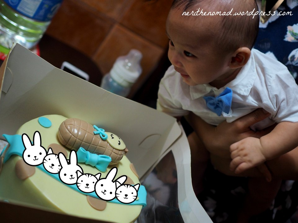 Even Peanut loved his cake!